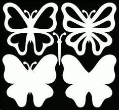 Butterfly Template, Flower Template, Butterfly Stencil, Crown Template, Heart Template, Paper Butterflies, Paper Flowers, Diy And Crafts, Paper Crafts