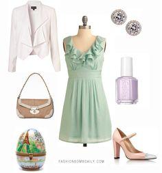 #eastersunday #green #fashion