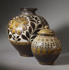 Kate Johnston Passiflora Storage Jars
