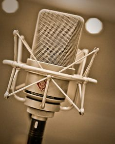 Probably my best investment in the past 12 months... Neumann Microphone (TLM 103) by Mark Sturge, via Flickr