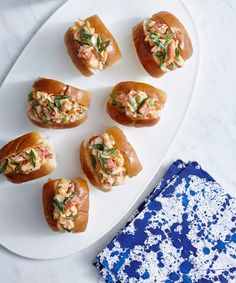 These Mini Lobster Rolls Are the Cutest Way to Celebrate National Lobster Day from InStyle.com