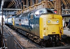 55002 'The King's Own Yorkshire Light Infantry' at Kings Cross on 21st May 1977.