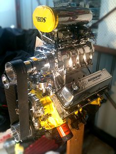 C Ac Cf Fb Eb A Performance Engines Sidecar on Ford 427 Stroker Crate Engine