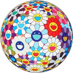 TAKASHI MURAKAMI - FLOWER BALL (3-D) SEQUOIA SEMPERVIRENS - KUNZT.GALLERY http://www.widewalls.ch/artwork/takashi-murakami/flower-ball-3-d-sequoia-sempervirens/