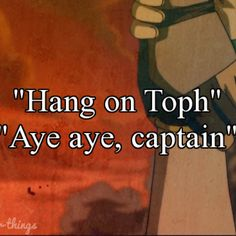 Tokka! I always have to fight crying at that part.