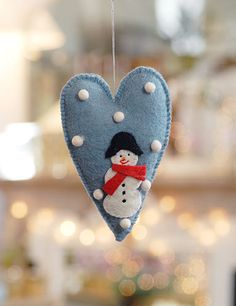 Christmas decs - these from Decorative Country Living.  Easy to make.