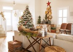 50 Christmas decorating ideas to create a stylish home  love the old ironing board