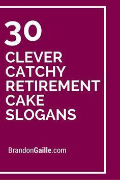 30 Clever Catchy Retirement Cake Slogans golf cakes Finance (This is an affiliate link) Read more evaluations of the product by checking out the link on the image.