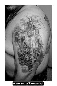Aztec Tattoos Sleeves 03 - http://aztectattoo.org/aztec-tattoos-sleeves-03/
