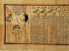 """El Libro de los Muertos, o Peri Em Heru """"Libro para salir al día"""""""