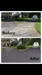Pro #9951657 | T&L Sealcoating & Striping | Springfield, MO 65804 Maryland Heights, Asphalt Driveway, Sidewalk, Pavement, Curb Appeal