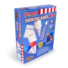 Nostalgia Electrics SFK512 Sno Cone Fun Kit -- Want to know more, click on the image-affiliate link.