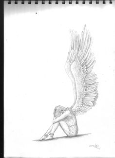 shit to draw angel drawing, art sketches, art drawings. Dark Art Drawings, Pencil Art Drawings, Amazing Drawings, Art Drawings Sketches, Beautiful Drawings, Cute Drawings, Ballet Drawings, Drawing Art, Drawing Ideas