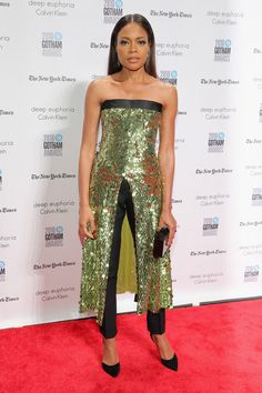 Naomie Harris in Monse at the Gotham Film Awards - The Absolute Best Red Carpet Looks of 2016  - Photos