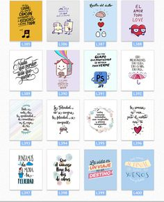 Cuadros Impresos Con Frases De La Vida +400 Diseños - $ 95,00 Porcelain Pens, Scrap Material, Decorate Notebook, Free Planner, Pocket Letters, Boyfriend Gifts, Scrapbooks, Planner Stickers, Hand Lettering