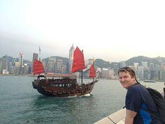 josh at victoria harbour hong kong