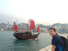 josh at victoria harbour hong kong