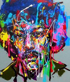 an ordinary person 39, acrylic on canvas, 60.6cm x 50.0cm, 2013