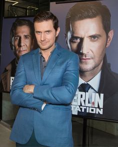 Richard Armitage from SAG-AFTRA Foundation Conversations with Berlin Station September 29 2016