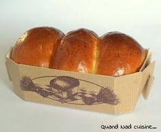 """Brioches """"comme chez le boulanger"""" Thermomix"""