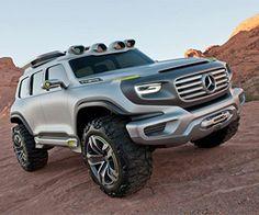 Uitgesproken vormtaal in Mercedes G-wagen concept | B R I G H T