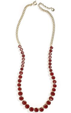 Faceted Jewel Necklace