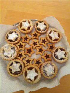 Nutella stars tarts