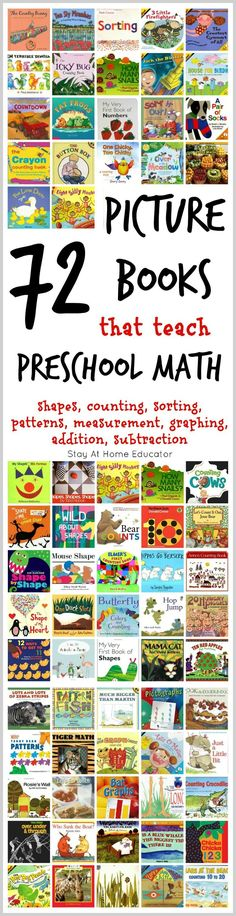 72 of the Absolute Best Math Picture Books for Kids