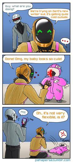 Daft Punk Parents IV by sheiku92