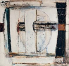 Paul Feiler - Pierced Vertical, 1963-64, oil on canvas, 30 x 32 in. (76.2 x 81.2 cm.)