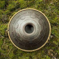 "GUDA Drum Design ""Dnipro"" #gudadrum #handpan"