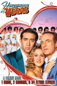Honeymoon in Vegas (1992) | Genre: Comedy, Drama | Averagish romcom at best
