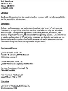 Software Test Engineer Sample Resume Resume For Individual With Little Skills Maria Jones Briggs 0824 .