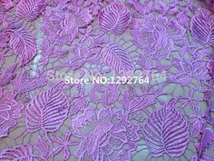 Free shipping! TS709  Wholesale price  5 yards   Cupion / Guipure lace fabric 100% polyester