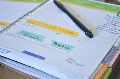 How I Use my Erin Condren Life Planner to Organize my Personal Life and my Business!
