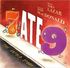 7 Ate 9 The Untold Story (Book) : Lazar, Tara : When 7 is accused of eating worried 6 hires a detective to investigate. First Grade Books, Good Books, My Books, Library Books, Library Ideas, Funny Books For Kids, Children's Literature, Book Authors, Read Aloud