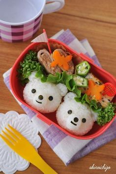 Sea bear rice ball