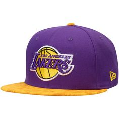 factory price 82827 b6b56 Men s Los Angeles Lakers New Era Purple Gold Team Variation 9FIFTY Snapback  Hat, Your Price   31.99