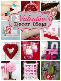 13 Valentine's Decor Ideas | MyBlessedLife.net