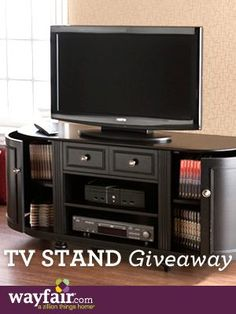 Wayfair Entertainment TV Stand Sweepstakes