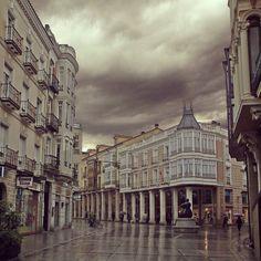 Calle Mayor, Palencia, Oct. 2012