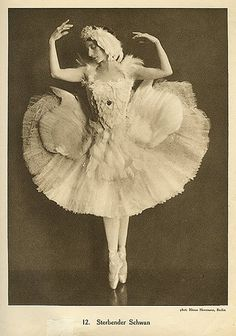 Anna Pavlova vintage ballet ballerina photo by ilyaballet, via Flickr    My ballet heroine.