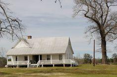 Old farm house near Ringgold,La. Has dog trot.