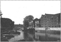 Oude haven in de jaren '20.