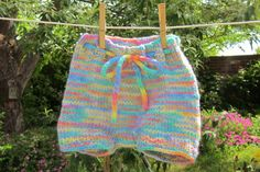 Soakers to Feel Good About  Handknit ecofriendly by earthbabyknits, $30.00