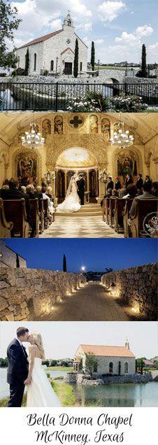 Bella Donna wedding chapel in McKinney, Texas. Dallas wedding chapels.  #weddingwishes