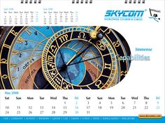 Desktop Calendar - May