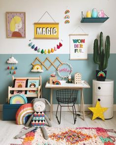 Help design the best playroom to keep the scattered toys in place. Take inspirations from the gender-neutral playroom ideas given below. Playroom Design, Kids Room Design, Playroom Ideas, Baby Bedroom, Girls Bedroom, Girl Nursery, Home Decoracion, Toy Rooms, Little Girl Rooms