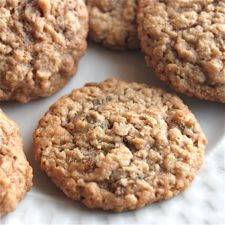 Oatmeal Cookies – cookies featuring the nutty taste and nubbly texture of oats.