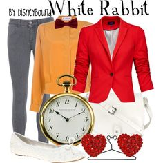 """White Rabbit"" by lalakay on Polyvore"